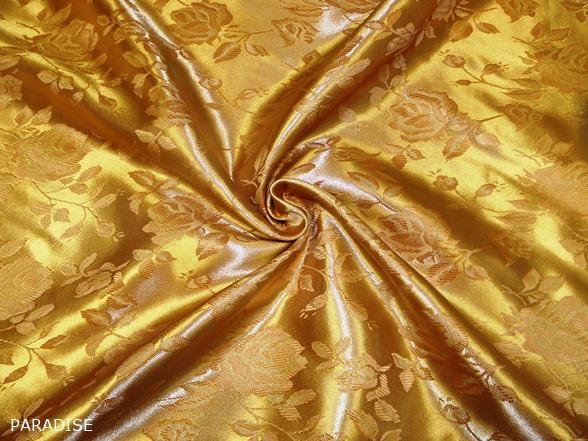 brokát dekoranyag