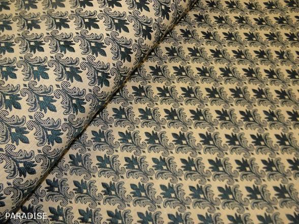 zöld barokkmintás bútorszövet - Paradise Méteráru - webáruház 344d1e96e9