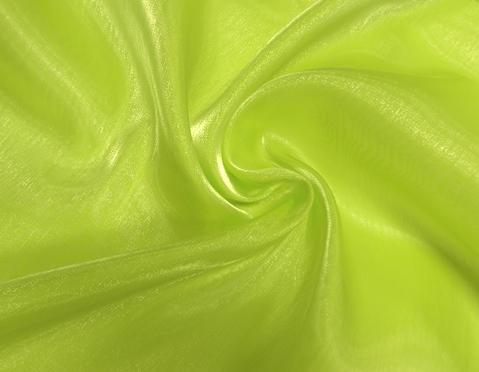 kiwizöld tükörorganza