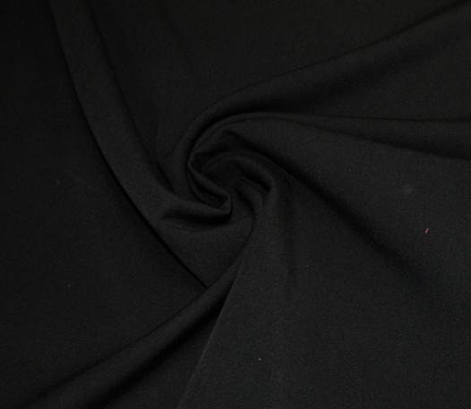 fekete kétirányú sztreccsszövet