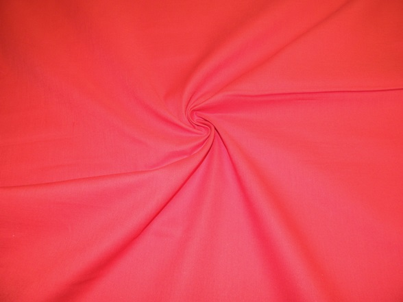 piros pamut vászon