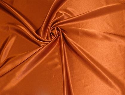 terrakotta színű kreppszatén