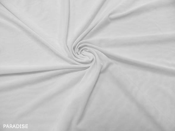 fehér elasztikus tüll