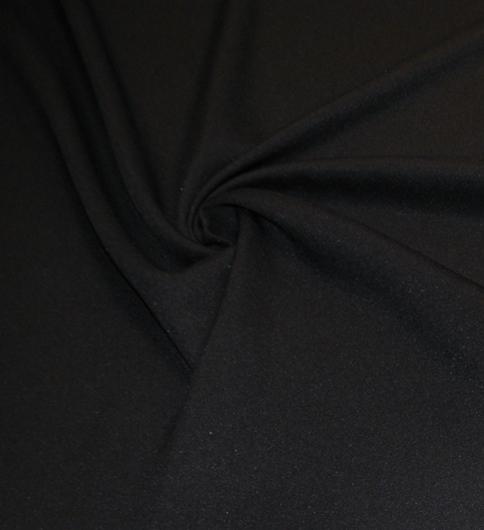 fekete kabátszövet