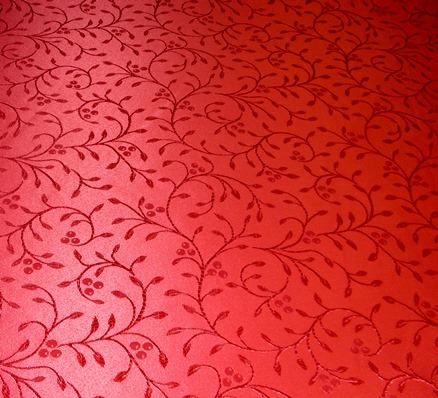 piros dekoranyag