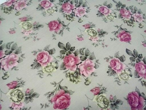 rózsás bútortextil dekorvászon