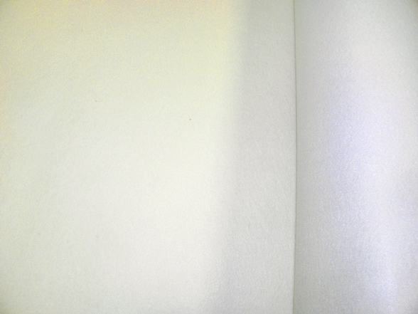 fehér dekorfilc