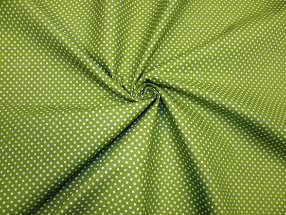 zöld alapon fehér pettyes vászon 1bea255b53